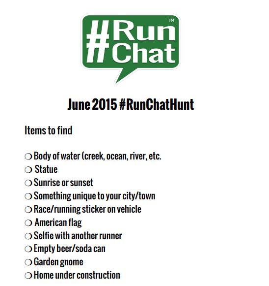 Gneeding a Gnome: Summer 2015 #RunChatHunt