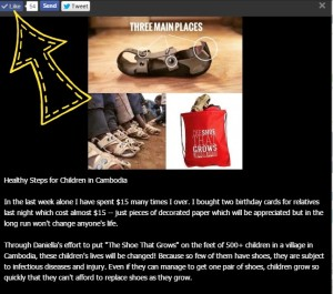 Shoes for Cambodian Children